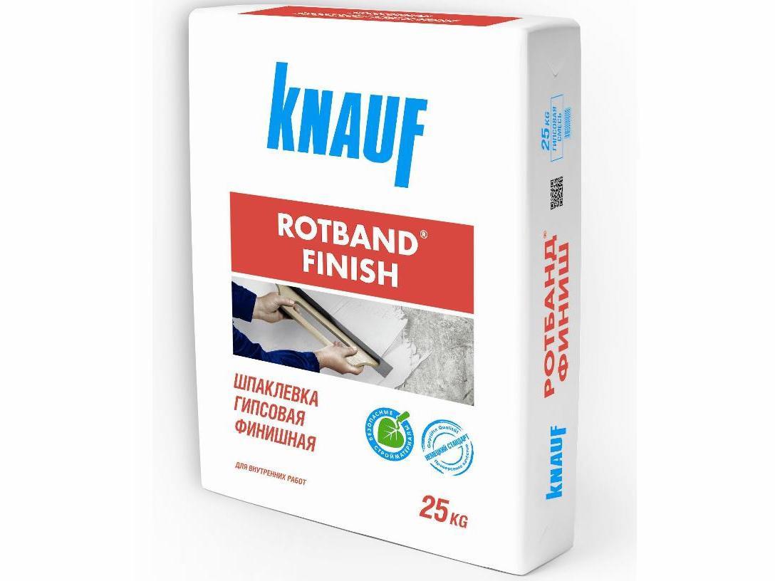 Шпаклевка гипсовая Кнауф Ротбанд ФИНИШ 25 кг (сухая) (45)